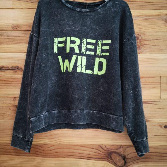 Sudadera Free Wild