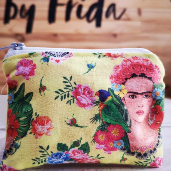 "Monedero Frida ""amarillo"""